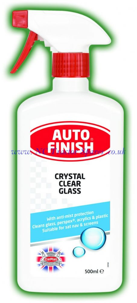 Auto Finish Crystal Clear Glass 500ml
